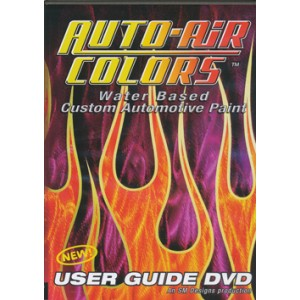 """Auto-Air Colors User Guide"" DVD"