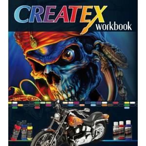 """Airbrush Knjiga """"CREATEX Workbook"""""""