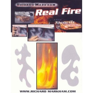 Komplet šablona Real Fire