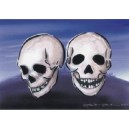 """Šablona """"Skulls"""""""